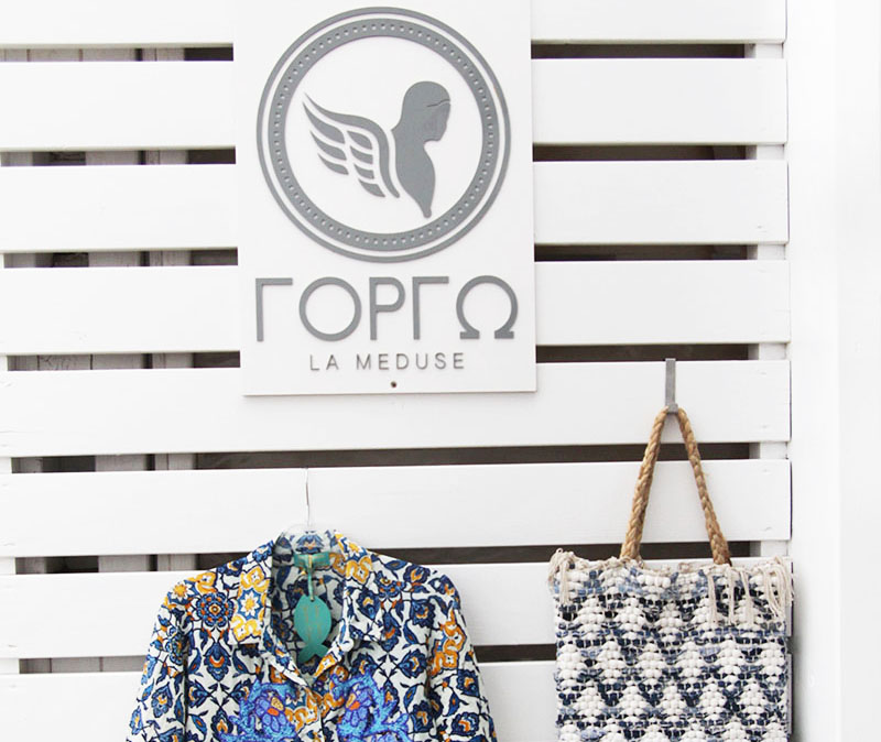 Griechische Mode: Gorgo La Meduse auf Paros
