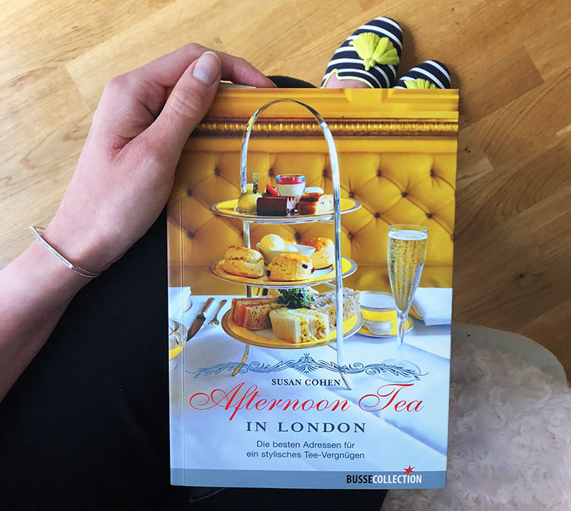 "Buch ""Afternoon Tea in London"" von Susan Cohen"