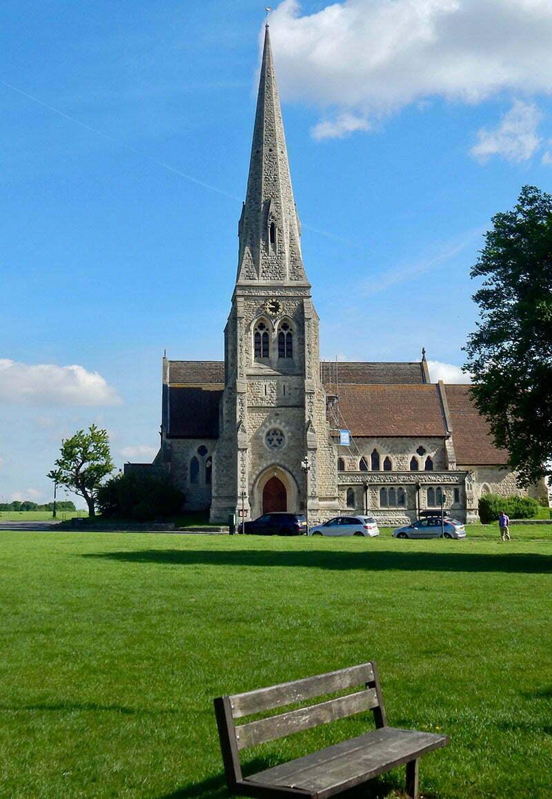 London-Spaziergang durch Greenwich: All Saints Church