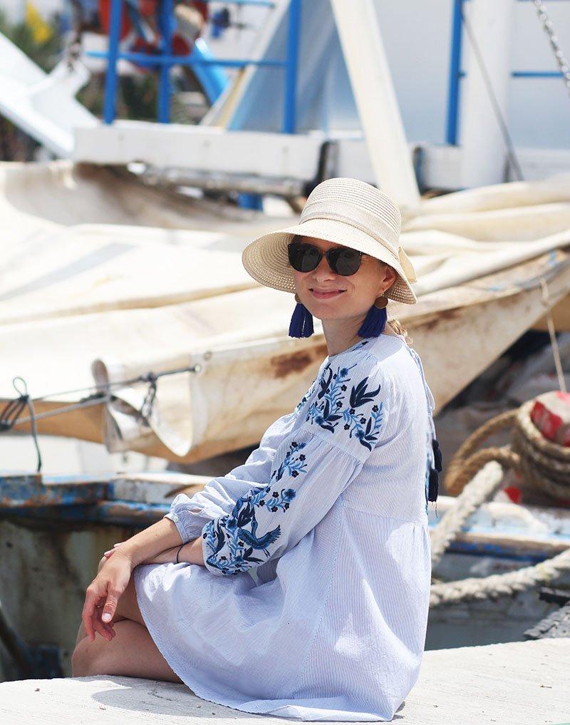 Griechenland Sommeroutfit Daniela Uhrich