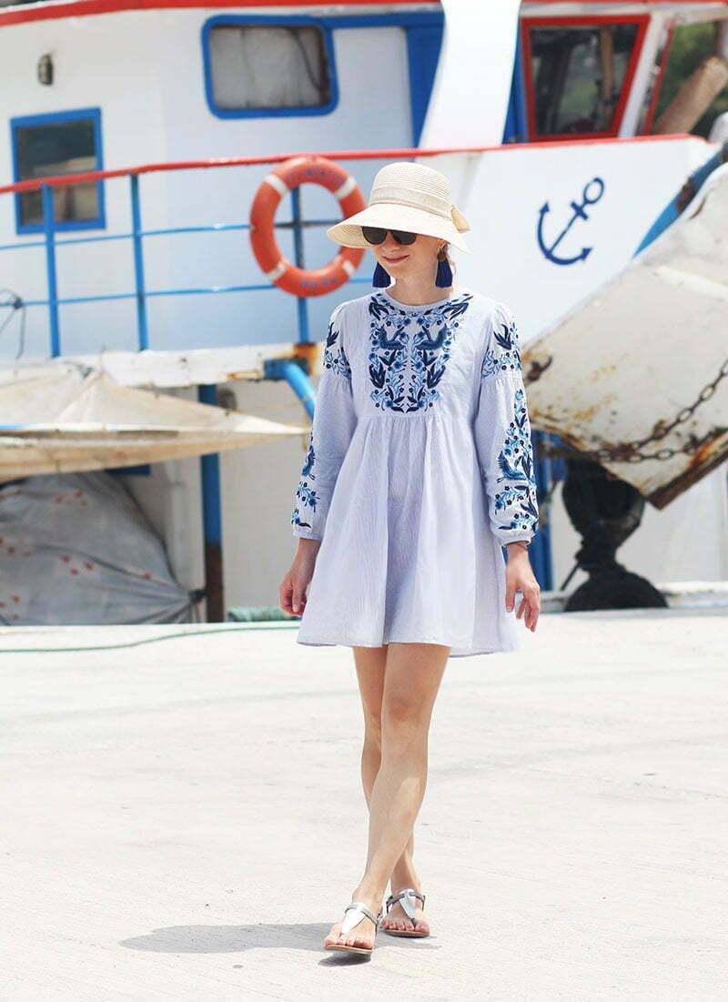 Outfitpost Griechenland Daniela Uhrich