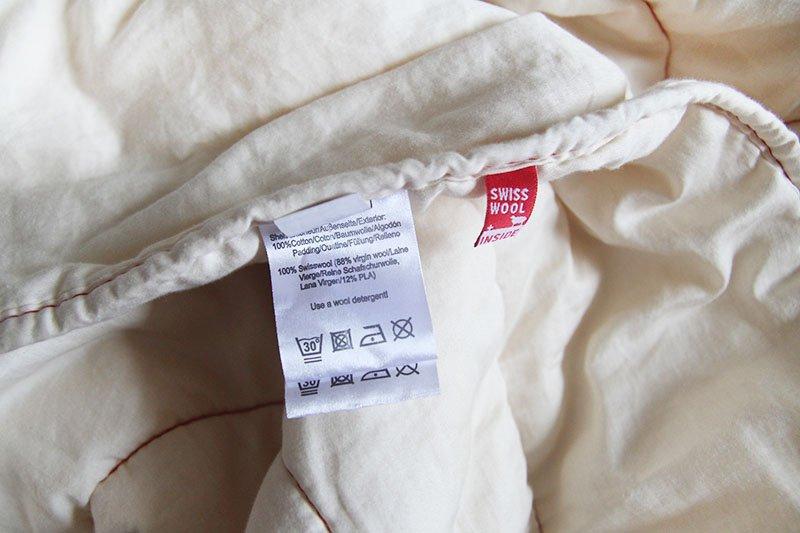 Nachhaltig und Bio: Bettdecke aus Wolle