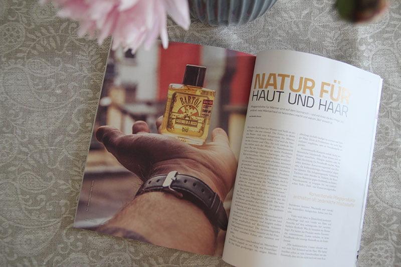 Im neuen TWEED: Naturkosmetik für den Gentleman
