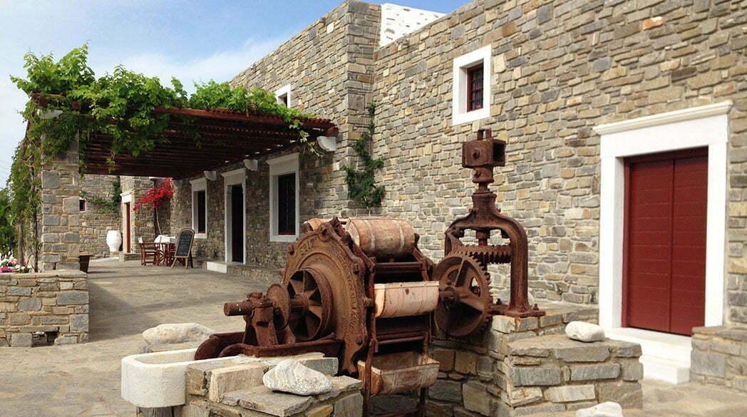 Das Weingut Moraitis auf Paros