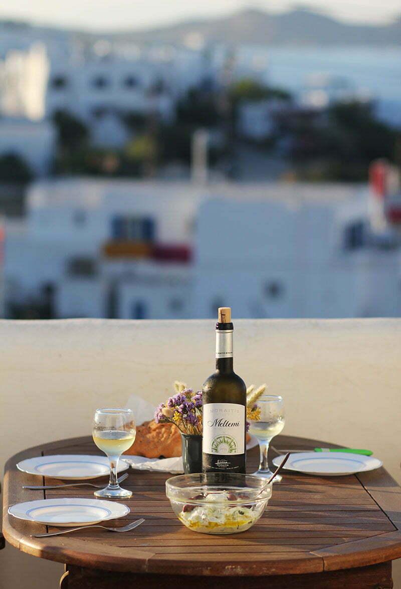 Weißwein Meltemi vom Weingut Moraitis