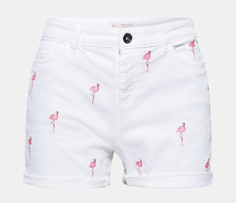 Preppy: Bestickte Shorts von Esprit