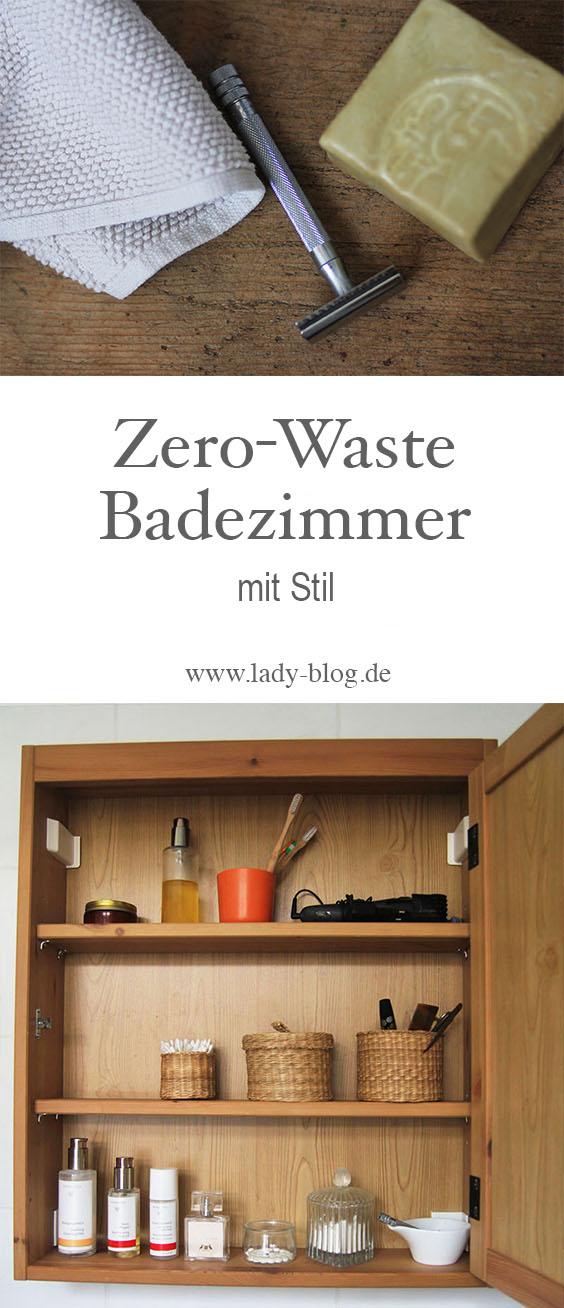 Ein Zero Waste Badezimmer mit Stil