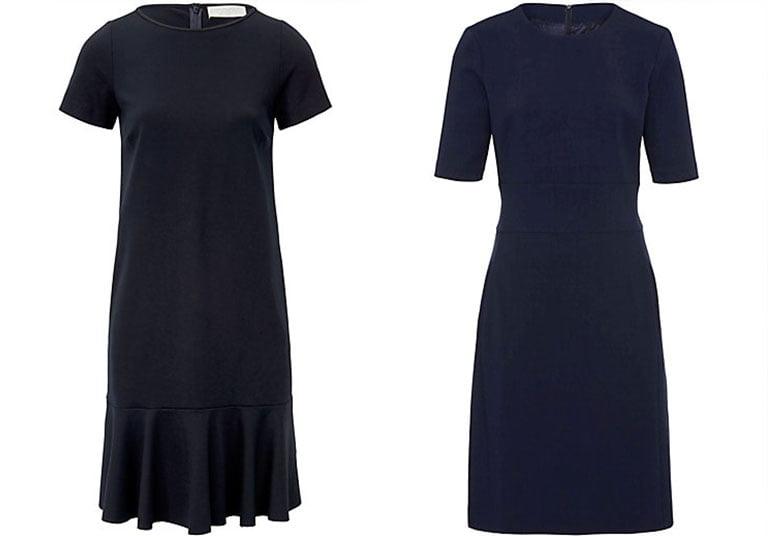 Kleid für Hochzeitsgäste: Das marineblaue Kleid