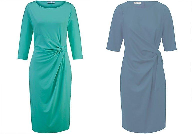 Kleid für Hochzeitsgäste: Das Kleid mit Raffung