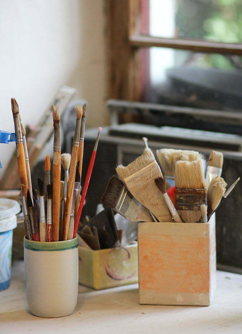 Atelier von Melanie Weissmann