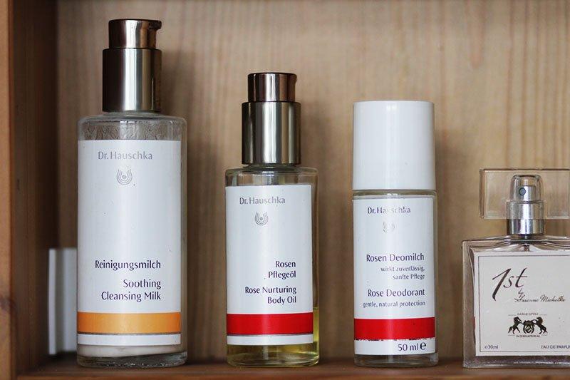 Zero Waste Badezimmer: Hautpflege von Dr. Hauschka