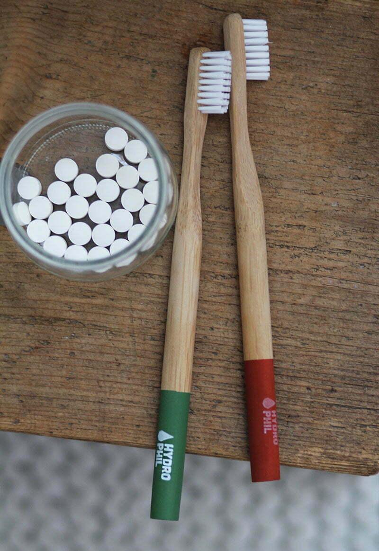 Zero Waste Badezimmer: Zahnbürsten von Hydrophil