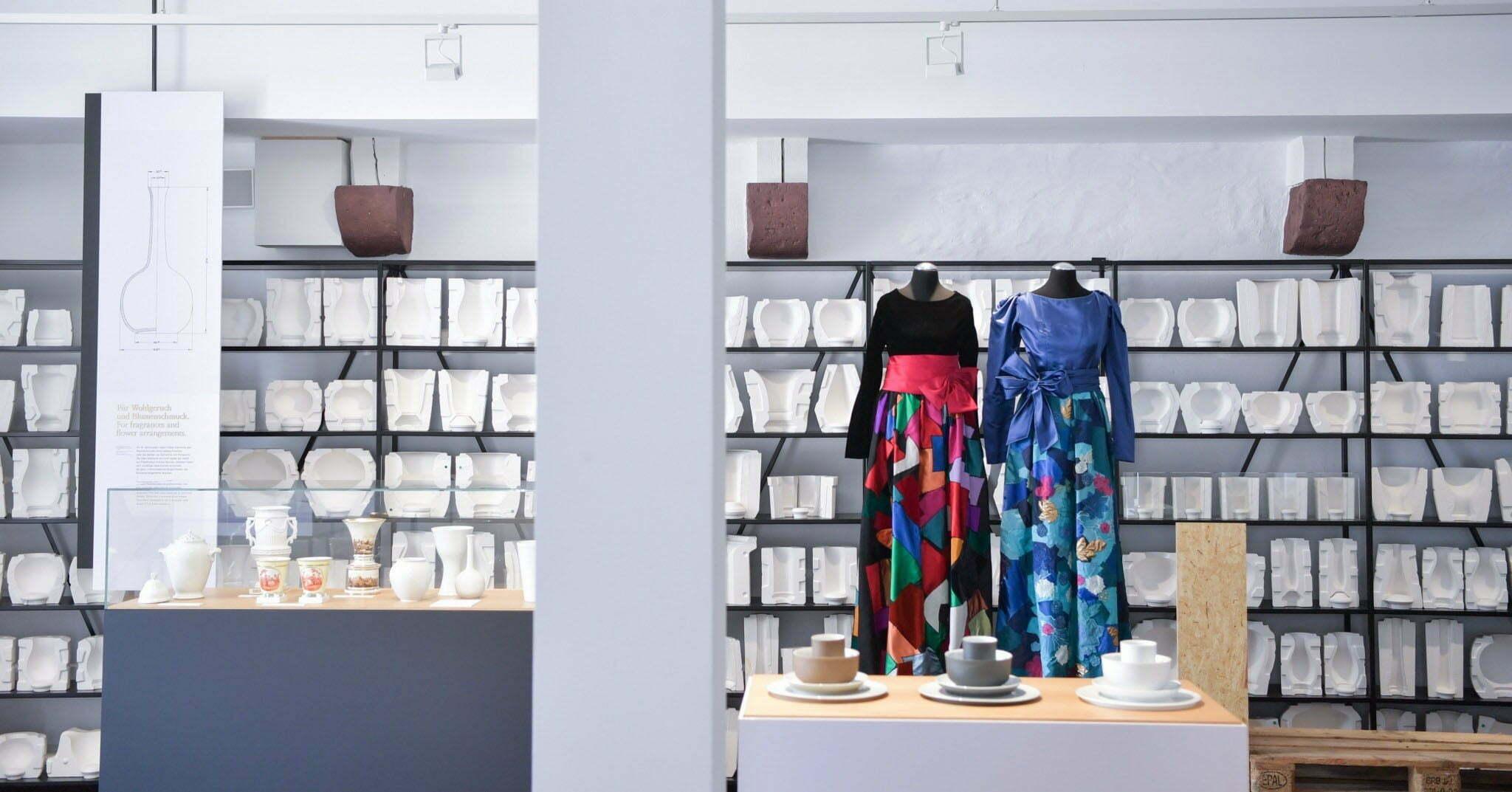 Fürstenberg-Ausstellung Porcelain Couture