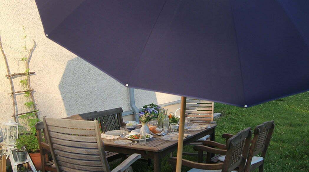Getestet: Sonnenschirm von Weishäupl