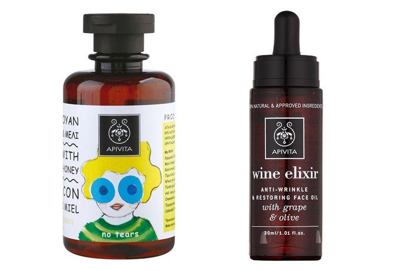 Apitiva: Naturkosmetik in Apothekerflaschen
