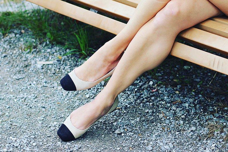 Ballerinas im Chanel-Stil von Unützer