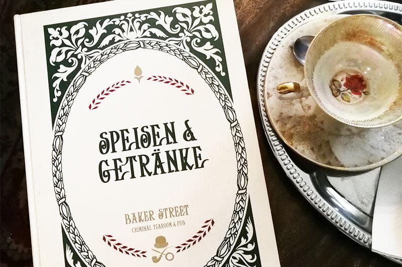 Der Baker Street Criminal Tearoom in Saarbrücken