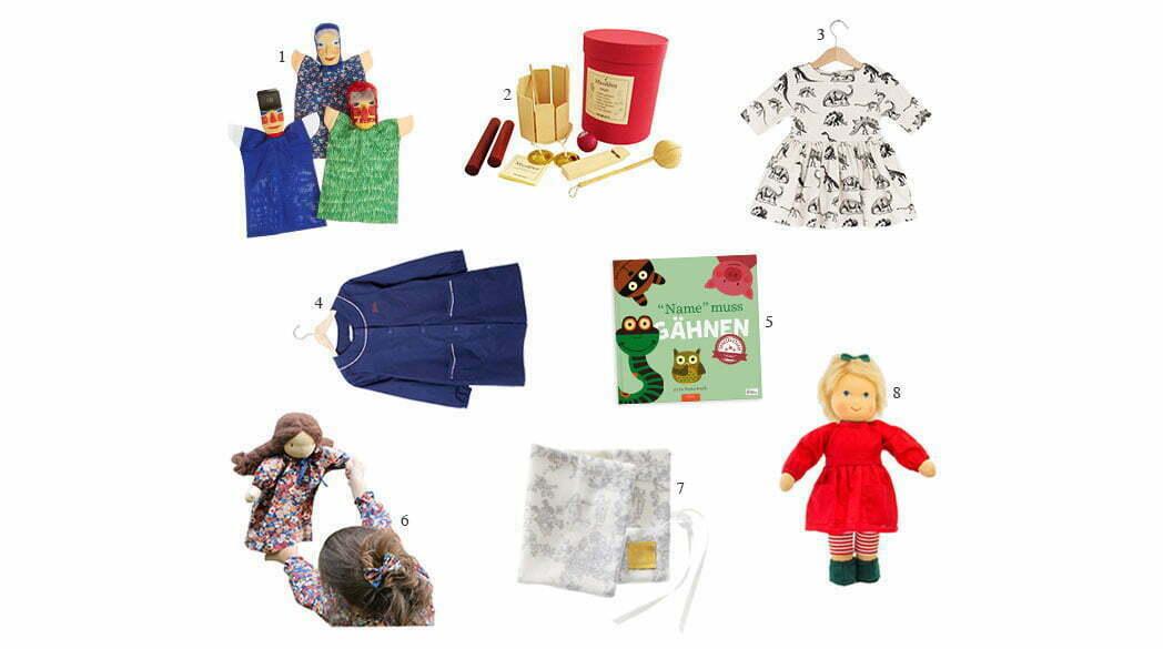 Acht Weihnachtsgeschenke mit Stil für Kinder