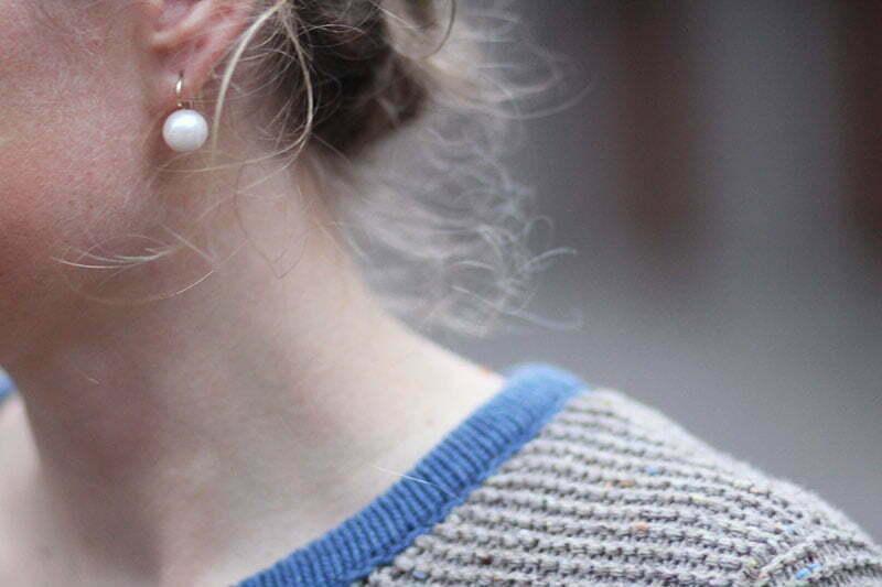 Perlenohrringe von Halsbandaffaire