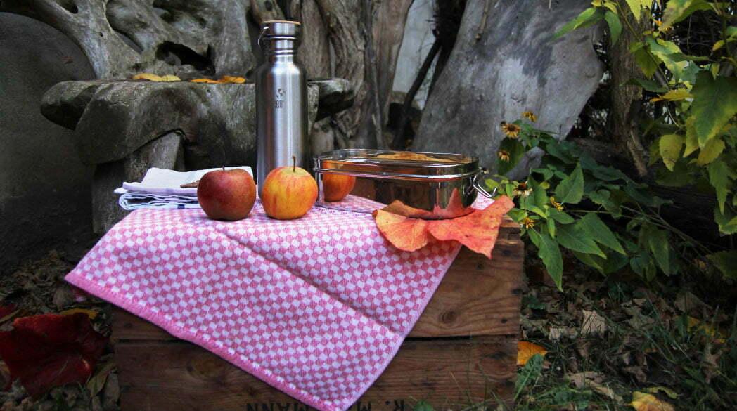 Zero Waste Picknick mit Edelstahl-Geschirr