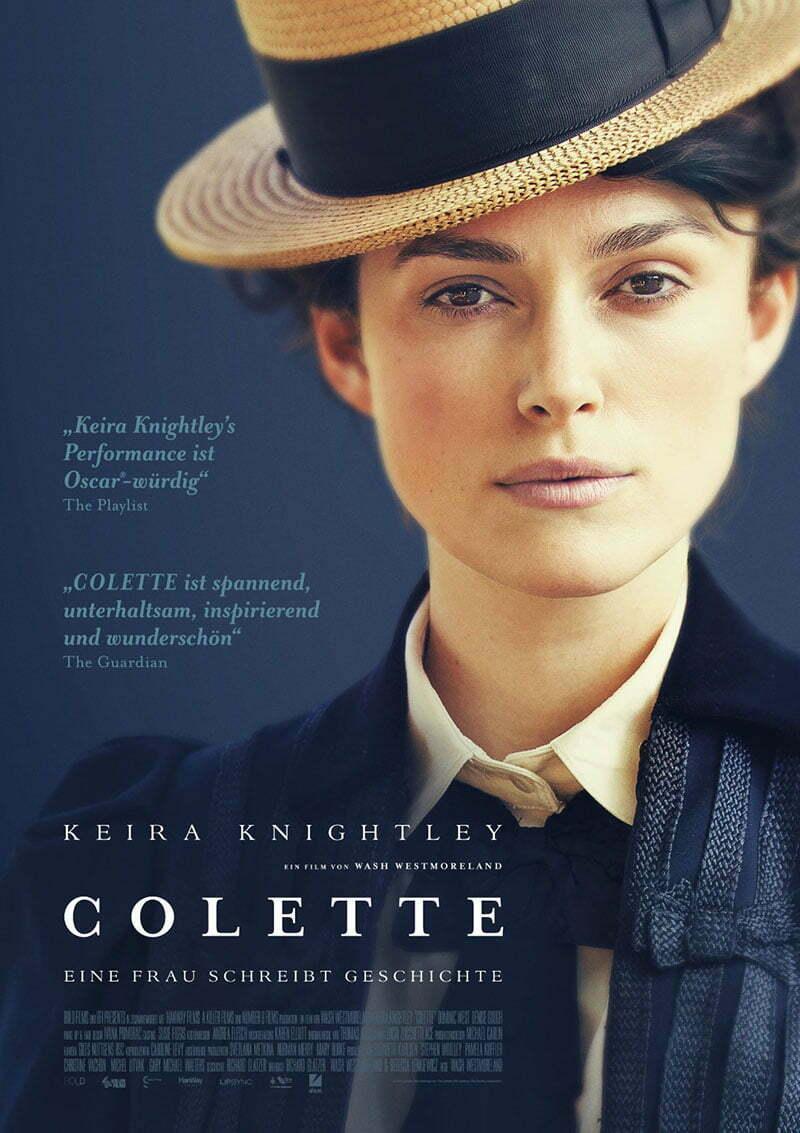 Colette Film mit Keira Knightley