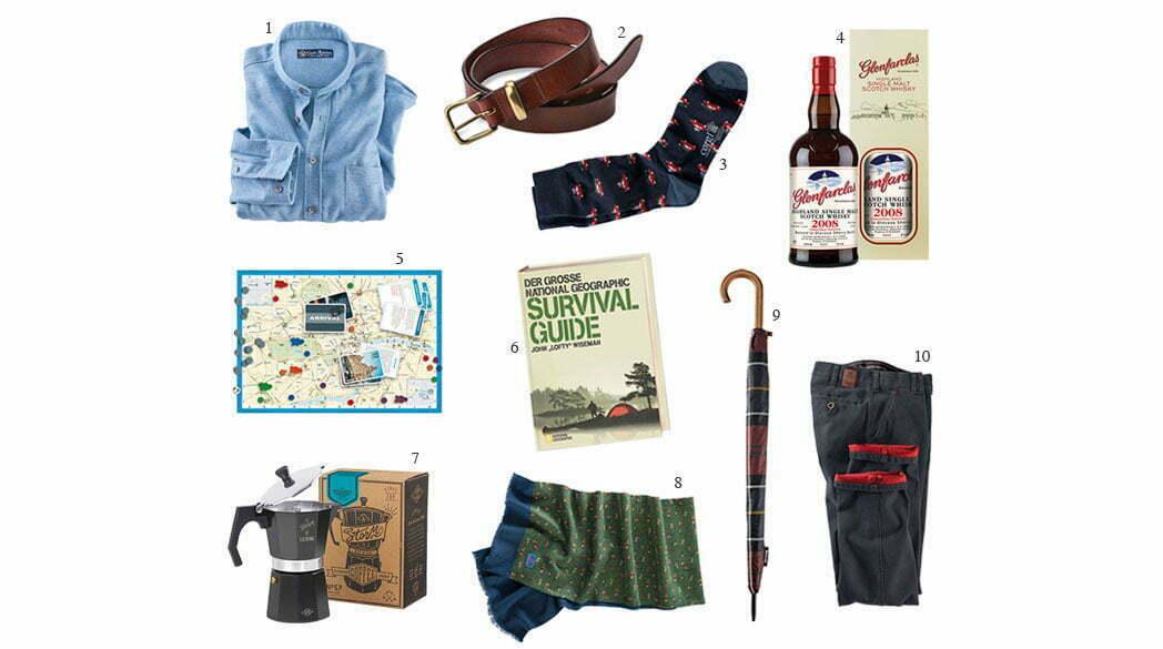 10 Geschenketipps mit Stil für den Gentleman*
