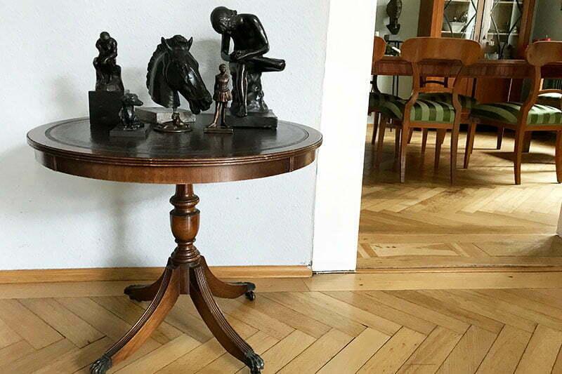 Wohnung von Christiane Scharrer-Sieb