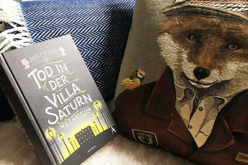 Tod in der Villa Saturn* von M.R.C. Kasasian: London-Krimi für Sherlock-Holmes-Fans