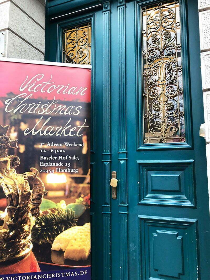 """Victorian Christmas Market"" in Hamburg"