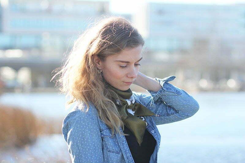 Stilkunde: Wie trägt man ein Jeans-Hemd?