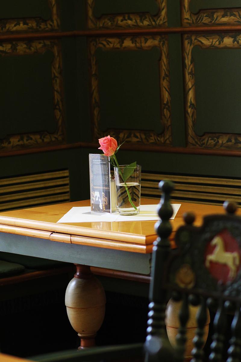 Niedersachsen-Zimmer: Das Schlosscafé von Agathenburg