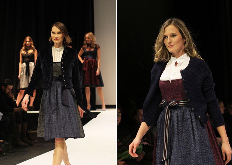 Tracht bei Nacht: Kinga Mathe Fashion-Show