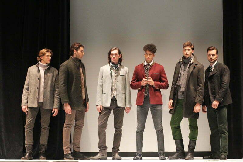 Tracht bei Nacht: Steinbock Fashion-Show