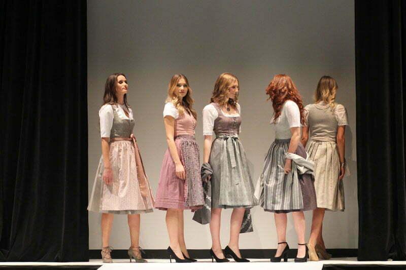 Tracht bei Nacht: Wenger Fashion-Show