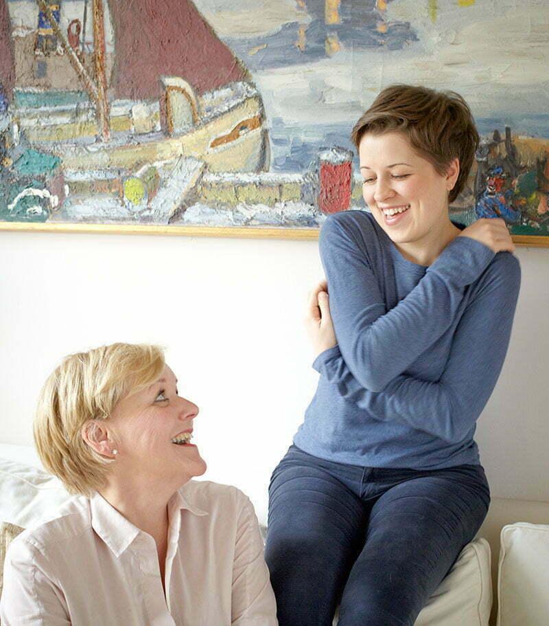 Karin Siegle-Kvarnström und Valerie Siegle