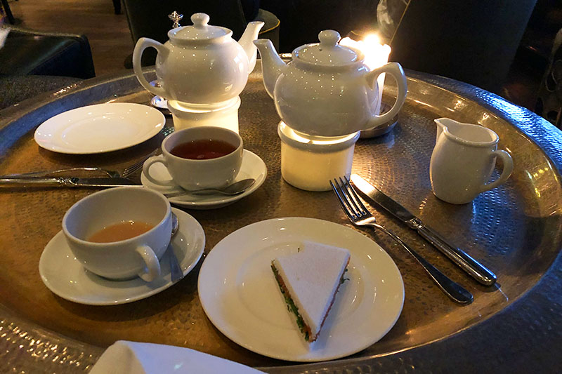 Tea-Time in Hamburg: The Georg Hotel