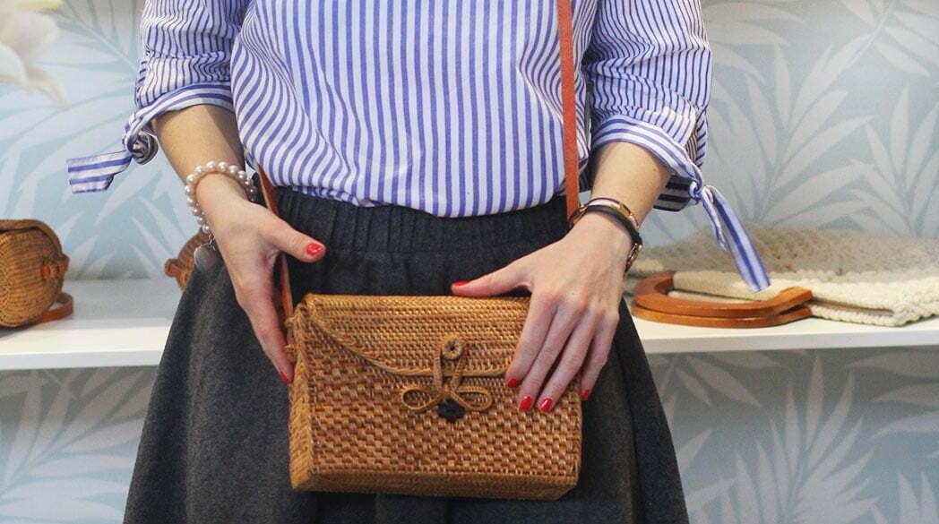 Koko Karma: Ata-Taschen aus Bali