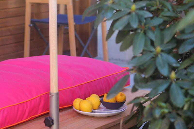 Weishäupl Sitzbezug in Pink und Orange