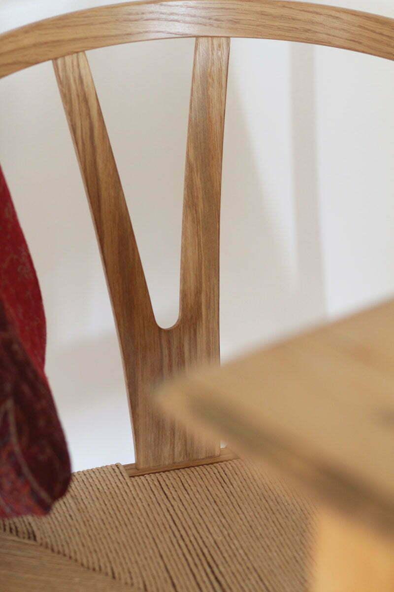 Wishbone Chair Natural lackierte Buche
