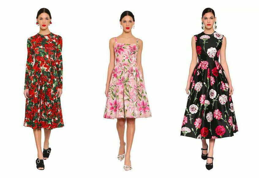 Midikleider von Dolce & Gabbana