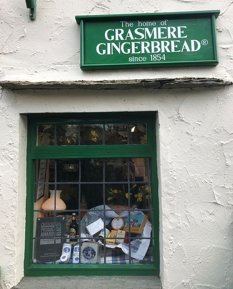 Lake District Tipps: Grasmere Gingerbread Shop