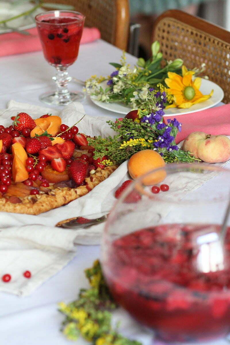 Salonettegirls: Erdbeerbowle von Texterella