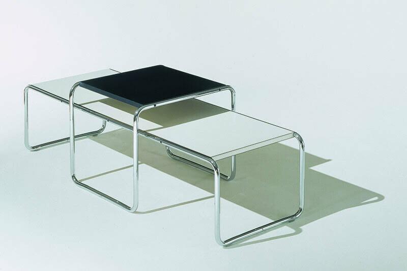Design-Klassiker: Die Laccio-Couchtische von Marcel Breuer