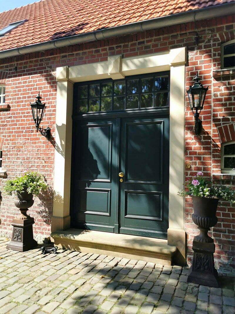 Zu Besuch bei Sarah Kock: Bauernhaus im Münsterland