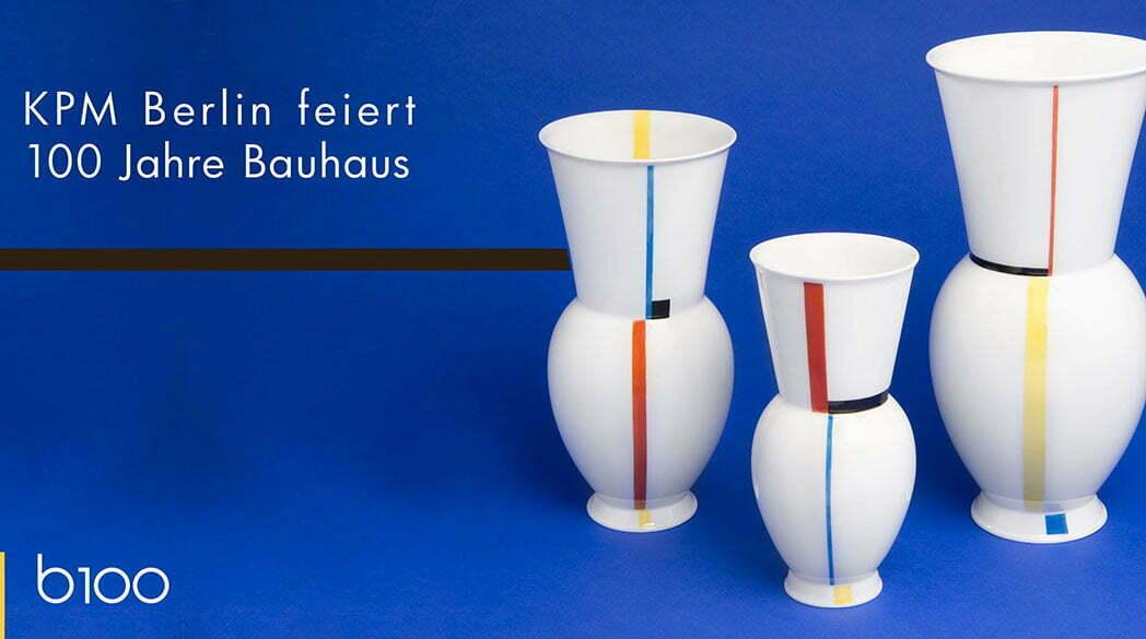Design-Klassiker: Das Bauhaus-Porzellan von KPM