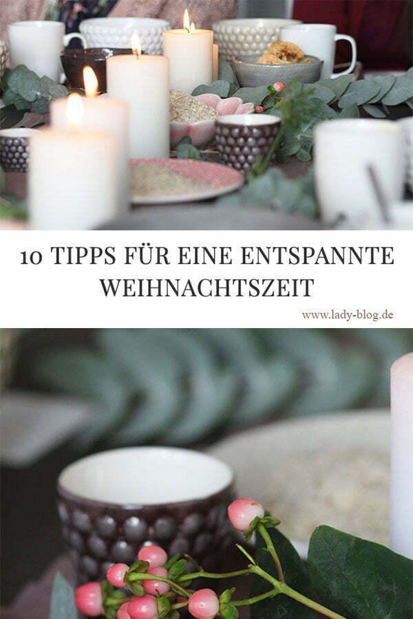 10 Tipps für eine entspannte Weihnachtszeit