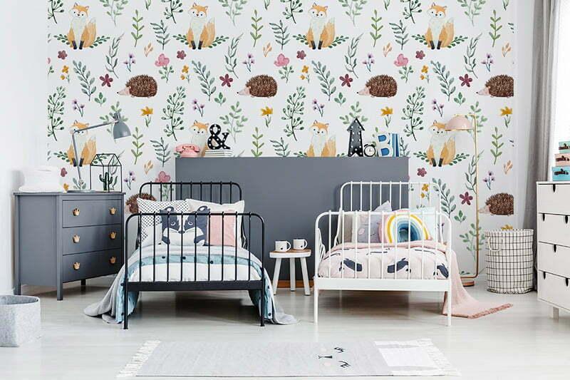 Kinderzimmertapete von Myloview