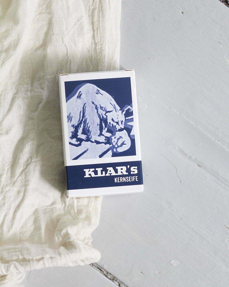Kernseife von KLAR Seifen
