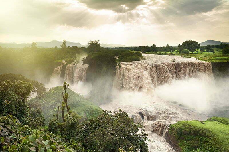 Nord-Äthiopien Tipp: Die Tisissat Wasserfälle