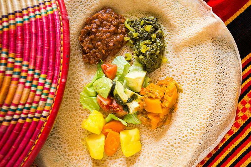 Nord-Äthiopien Tipps: Das Fladenbrot Injera